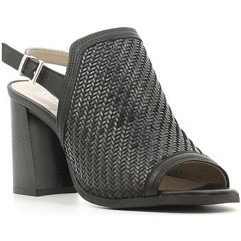 Schuhe Damen Sandalen / Sandaletten Keys 5427 Schwarz