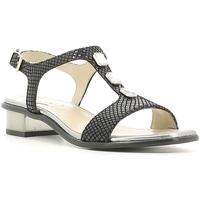 Schuhe Damen Sandalen / Sandaletten Keys 5405 Schwarz