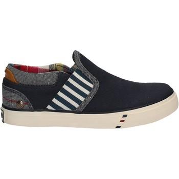 Schuhe Kinder Slip on Wrangler WJ17103 Blau