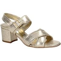 Schuhe Damen Sandalen / Sandaletten Keys 5717 Gelb