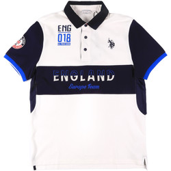 Kleidung Herren Polohemden U.S Polo Assn. 43773 41029 Weiß