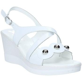 Schuhe Damen Sandalen / Sandaletten Susimoda 284695-01 Weiß