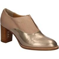 Schuhe Damen Ankle Boots Mally 5142 Beige