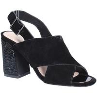 Schuhe Damen Sandalen / Sandaletten Alma En Pena V18277 Schwarz