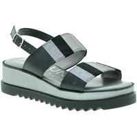 Schuhe Damen Sandalen / Sandaletten Pregunta IAD19394 Grau