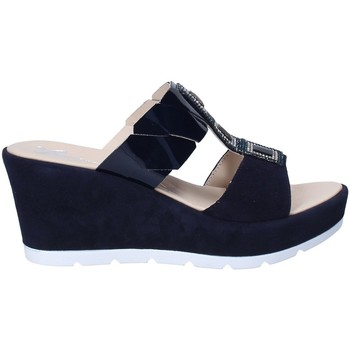 Schuhe Damen Pantoffel Susimoda 163797 Blau