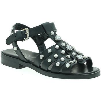 Schuhe Damen Sandalen / Sandaletten Mally 6134 Schwarz