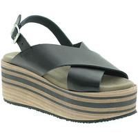 Schuhe Damen Sandalen / Sandaletten Pregunta IBH5803 Schwarz
