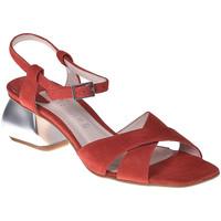 Schuhe Damen Sandalen / Sandaletten Café Noir ME571 Rot