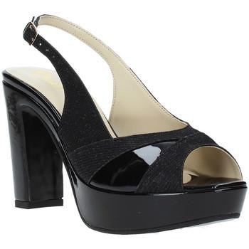 Schuhe Damen Sandalen / Sandaletten Grace Shoes JN 093 Schwarz