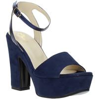 Schuhe Damen Sandalen / Sandaletten Grace Shoes TQ 106 Blau
