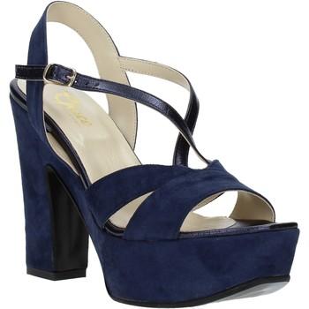 Schuhe Damen Sandalen / Sandaletten Grace Shoes TQ 126 Blau