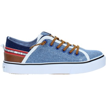Schuhe Kinder Sneaker Low U.s. Golf S19-SUK407 Blau