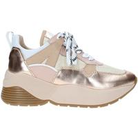 Schuhe Damen Sneaker Low Janet Sport 43780 Rosa