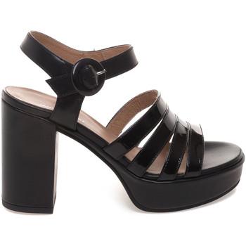 Schuhe Damen Sandalen / Sandaletten Janet Sport 43875 Schwarz