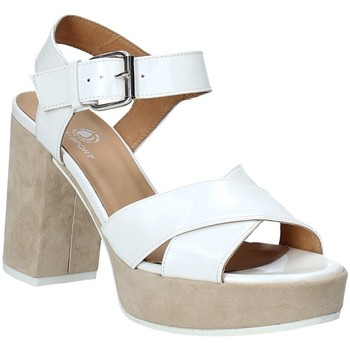 Schuhe Damen Sandalen / Sandaletten Janet Sport 43883 Weiß