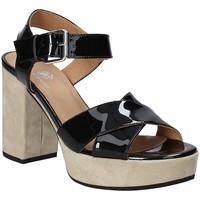 Schuhe Damen Sandalen / Sandaletten Janet Sport 43883 Schwarz