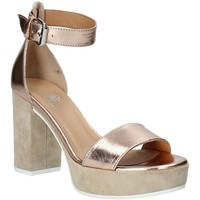 Schuhe Damen Sandalen / Sandaletten Janet Sport 43885 Rosa