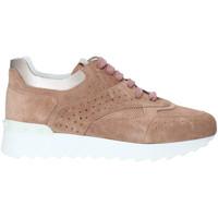 Schuhe Damen Sneaker High Triver Flight 198-10B Rosa