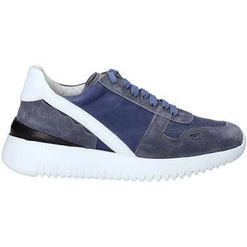 Schuhe Damen Sneaker Low Triver Flight 101-02C Blau