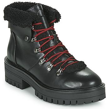 Schuhe Damen Boots Emmshu ESIDAVER Schwarz