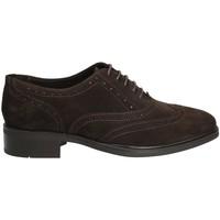 Schuhe Damen Derby-Schuhe Marco Ferretti 140424 Braun