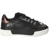 Schuhe Damen Sneaker Low Janet Sport 42729 Schwarz