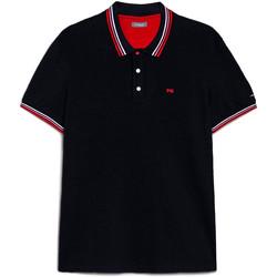 Kleidung Herren Polohemden NeroGiardini E072390U Blau