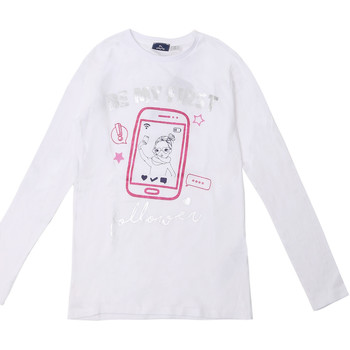 Kleidung Kinder Langarmshirts Chicco 09006871000000 Weiß
