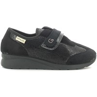 Schuhe Damen Sneaker Low Grunland SC2920 Schwarz