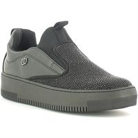 Schuhe Damen Slip on Wrangler WL162640 Schwarz