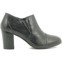 Schuhe Damen Ankle Boots Pregunta ICB42 Schwarz