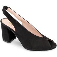 Schuhe Damen Sandalen / Sandaletten Valleverde 29201 Schwarz