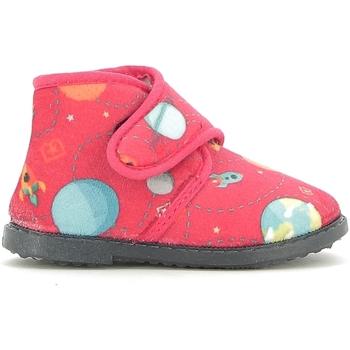 Schuhe Kinder Hausschuhe Blaike BI010003S Rot