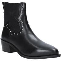 Schuhe Damen Low Boots Apepazza 9FCLM05 Schwarz