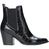 Schuhe Damen Low Boots Steve Madden SMSPATRICIA-BLKCRO Schwarz
