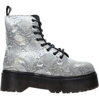 Schuhe Damen Low Boots Gold&gold B19 GA122 Grau