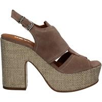 Schuhe Damen Sandalen / Sandaletten Keys 5263 Beige