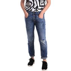 Kleidung Damen Slim Fit Jeans Fornarina BER1I27D785IM Blau