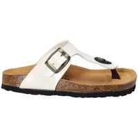 Schuhe Kinder Zehensandalen Bamboo BAM-02 Weiß