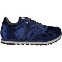 Schuhe Damen Sneaker Low Y Not? W17-SYW507 Blau