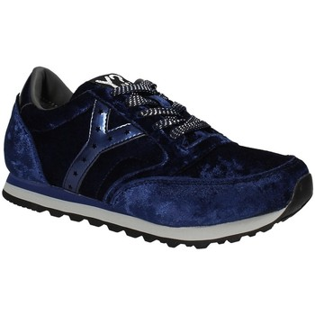Schuhe Damen Sneaker Low Y Not? W17-SYW507 Blau