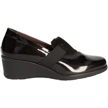 Schuhe Damen Slipper Susimoda 862054 Schwarz