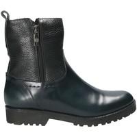 Schuhe Damen Low Boots Mally 4645SM Schwarz