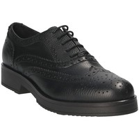 Schuhe Damen Richelieu Mally 4704S Schwarz