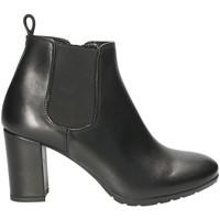 Schuhe Damen Low Boots Mally 5500S Schwarz