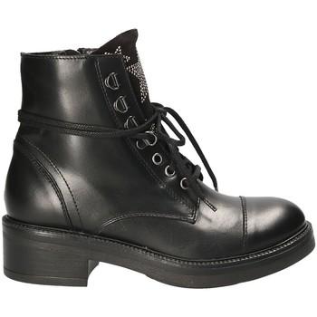 Schuhe Damen Boots Mally 6019 Schwarz