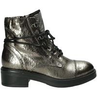 Schuhe Damen Boots Mally 6019M Grau