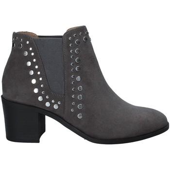 Schuhe Damen Boots Fornarina PI18KS1124S009 Grau