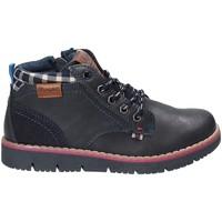 Schuhe Kinder Boots Wrangler WJ17215 Blau